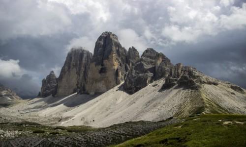 Zdjecie WłOCHY / Dolomity / Tre Cime di Lavaredo / majestatyczne Tre Cime di Lavaredo