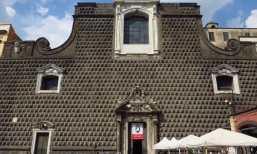 Zdjęcie WłOCHY / Kampania / Neapol / kościół Jezuitów