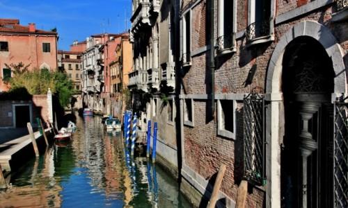 Zdjęcie WłOCHY / Wenecja Euganejska / Wenecja / Wenecja - zaułek