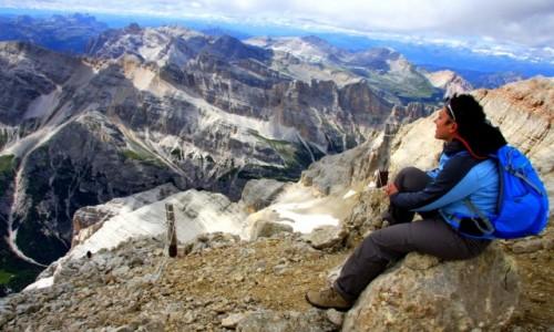 Zdjecie WłOCHY / Veneto / Cortina d`Ampezzo / Patrząc na świat z góry