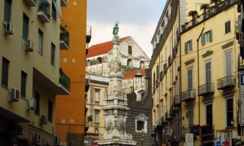Zdjęcie WłOCHY / Kampania / Neapol / ulice Neapolu