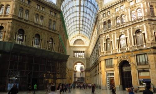 Zdjęcie WłOCHY / Kampania / Neapol / galeria Umberto I