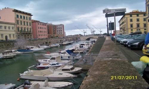 Zdjecie WłOCHY / Toskania / Livorno / Livorno- duże miasto portowe nad m.Liguryjskim
