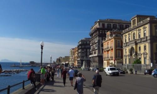 Zdjęcie WłOCHY / Kampania / Neapol / promenada nadmorska