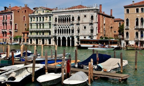 WłOCHY / Wenecja Euganejska / Wenecja / Wenecja - Złoty Dom
