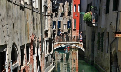 Zdjęcie WłOCHY / Wenecja Euganejska / Wenecja / Wenecja - mostek