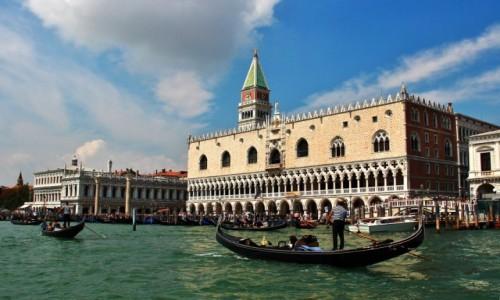 WłOCHY / Wenecja Euganejska / Wenecja / Wenecja - Pałac Dożów - Palazzo Ducale