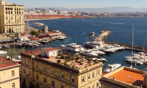 WłOCHY / Kampania / Neapol / Neapol - widok z Castel Dell'ovo