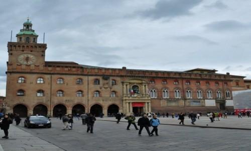 Zdjęcie WłOCHY / Emilia-Romania / Bolonia / Bolonia, Palazzo d'Accursio