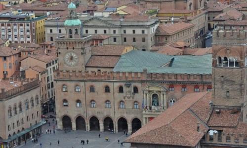 WłOCHY / Emilia-Romania / Bolonia / Bolonia, Palazzo d'Accursio