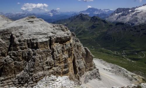 WłOCHY / Dolomity / Sass Pordoi / Dolomity