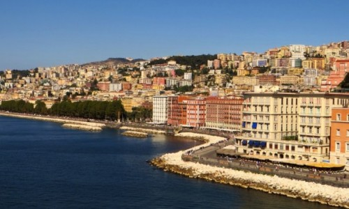 Zdjęcie WłOCHY / Kampania / Neapol / Neapol - widok z Castel Dell'ovo