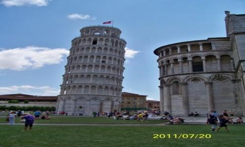 Zdjecie WłOCHY / Toskania / Piza, Piazza del Duomo , Piazza dei Miracoli / Krzywa wieża /