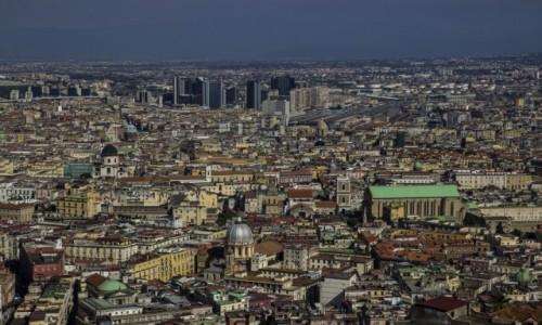 WłOCHY / Kampania / Neaopl / panorama Neapolu