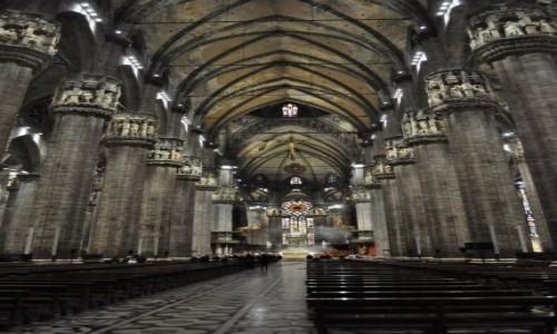 WłOCHY / Lombardia / Mediolan / Mediolan, katedra