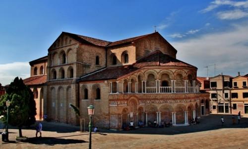WłOCHY / Laguna Wenecka / Murano / Bazylika Santi Maria e Donato