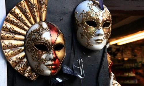 Zdjęcie WłOCHY / Wenecja Euganejska / Wenecja / Weneckie maski - symbol karnawału
