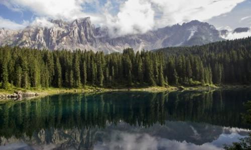 Zdjecie WłOCHY / Trentino-Alto Adige / Dolomity / Lago di Carezza