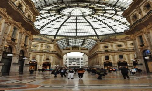 Zdjęcie WłOCHY / Lombardia / Mediolan / Mediolan, galeria Viktora Emanuela