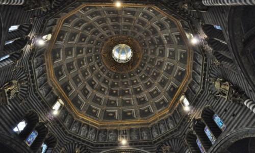 Zdjęcie WłOCHY / Toskania / Siena / Siena, katedra. kopuła