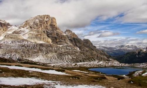 Zdjecie WłOCHY / Dolomity / okolice schroniska Rifugio Lavaredo  / Dolomity