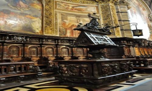Zdjęcie WłOCHY / Toskania / Siena / Siena, katedra, stalle