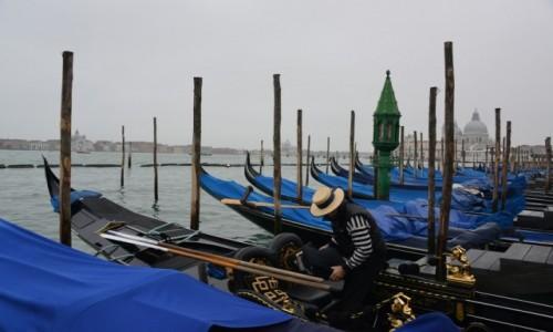 Zdjęcie WłOCHY / Wenecja / Wenecja / Gondole w Wenecji