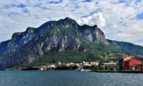 Zdjęcie WłOCHY / Lombardia / Lecco / Alpy znad jeziora Como