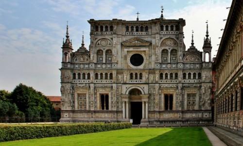 Zdjęcie WłOCHY / Lombardia / Certosa di Pavia / Klasztor Certosa di Pavia