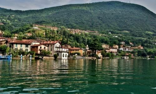 Zdjęcie WłOCHY / Lombardia / Como / Nad jeziorem Como