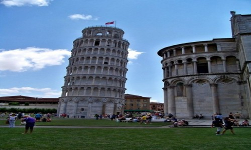 Zdjecie WłOCHY / Toskania / Piza / Krzywa Wieża w Pizie