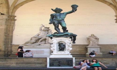 Zdjęcie WłOCHY / - / Florencja, Piazza della Signoria / Perseusz z głową Meduzy