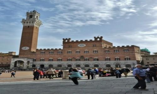 Zdjęcie WłOCHY / Toskania / Siena / Siena, Palazzo Pubblico