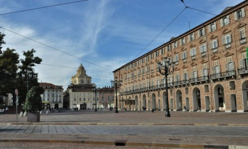 WłOCHY / Piemont / Turyn / Turyn, serce starego miasta