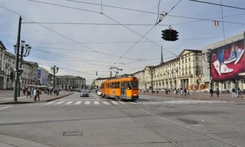 Zdjęcie WłOCHY / Piemont / Turyn / Turyn, Piazza Vittorio Veneto