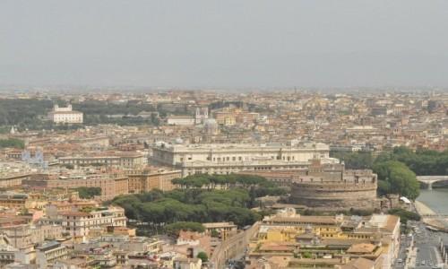 Zdjęcie WłOCHY / Lazio / Rzym / Rzym, panorama
