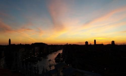 Zdjęcie WłOCHY / pólnoc / Wenecja / Wenecja..zachod slonca