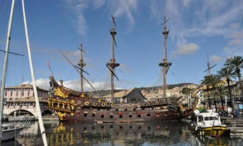 Zdjęcie WłOCHY / Liguria / Genua / Genua, port