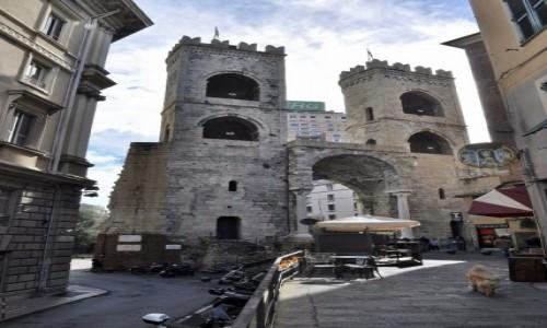 Zdjęcie WłOCHY / Liguria / Genua / Genua, mury