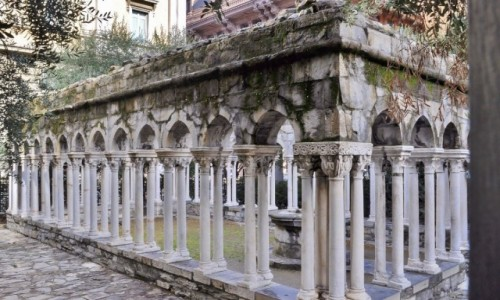 Zdjecie WłOCHY / Liguria / Genua / Genua, krużganek