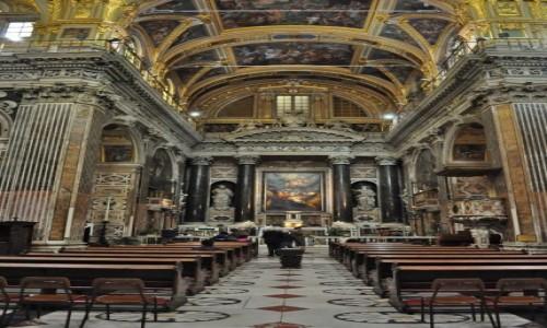 Zdjecie WłOCHY / Liguria / Genua / Genua, Chiesa del Gesù e dei Santi Ambrogio e Andrea