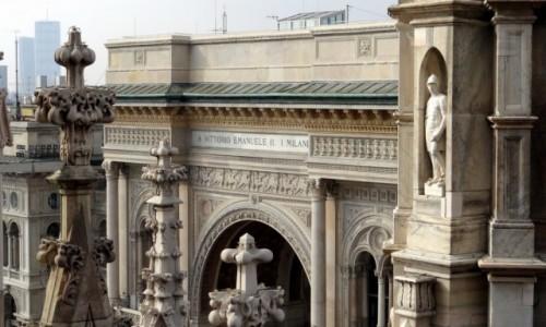 Zdjecie WłOCHY / Lombardia / Milano / Patrząc na wszystko z góry