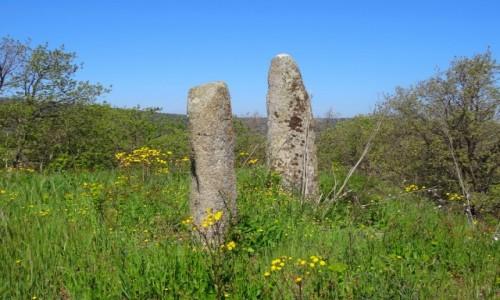 Zdjecie WłOCHY / Sardynia / Okolica Mamoiady / Świąteczne pozdrowienia od Menhira