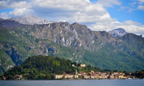 WłOCHY / Lombardia / Bellagio / płynąc...