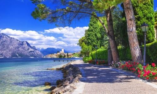 WłOCHY / Jezioro Garda / Garda / Europa Silvella