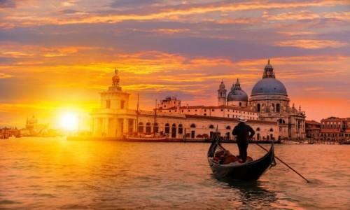 WłOCHY / Wybrzeże Adriatyku / Wenecja / Wieczorna Wenecja