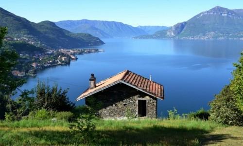 WłOCHY / Lombardia / Bellagio / chata z widokiem...