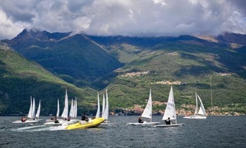 Zdjecie WłOCHY / Lombardia / Lago di Como / regaty...
