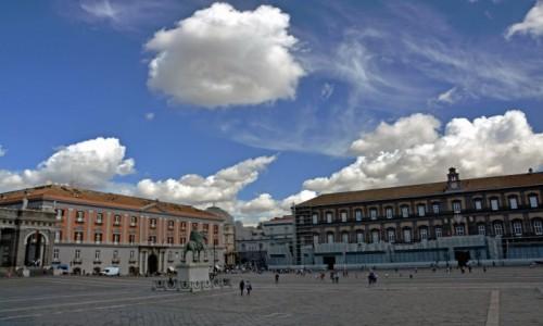 Zdjecie WłOCHY / Kampania / Neapol /  Piazza del Plebiscito
