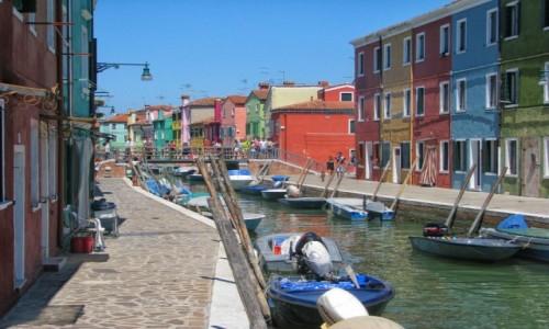Zdjecie WłOCHY / veneto /  Burano / mała podróż włoska